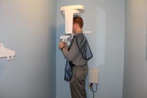 dental imaging with minimal radiation